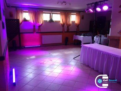 DJ na svadbu, príprava osvetlenia