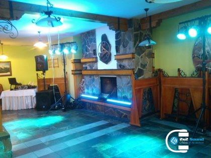 DJ na svadbu, osvetlenie a ozvučenie