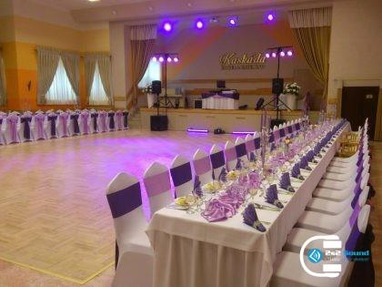 DJ na svadbu, ozvučenie a osvetlenie