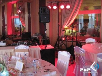 DJ na luxusnú svadbu, ozvučenie kapely