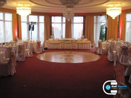 DJ na luxusnú svadbu, osvetlenie priestoru