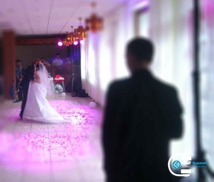 DJ na svadbu, efekty, konfety - Prvý mladomanželský tanec