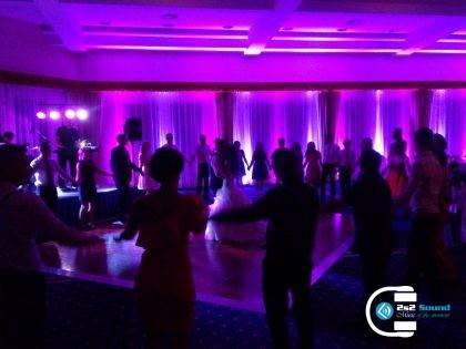 DJ na svadbu, tanečná zábava a dekoračné osvetlenie
