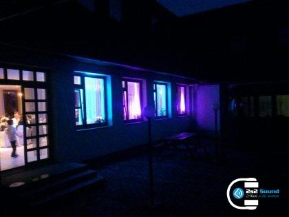 DJ a dekoračné osvetlenie na svadbu