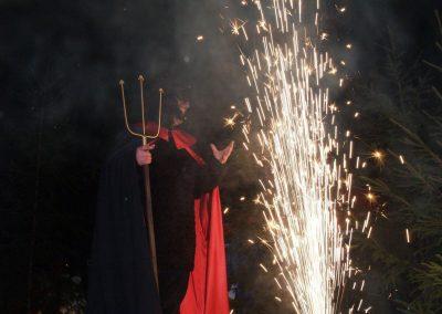 Ozvučenie a pyrotechnika Príchod Mikuláša