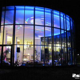 DJ na súkromnú rodinnú oslavu , dekoračné LED osvetlenie sály v hoteli Montfort Kolovrat v Tatranskej Javorine