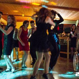 Deejay a osvetlenie rodinná oslava 50tky v reštaurácii CinCin v Poprade